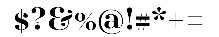 AWConqueror Std Didot Bold Font OTHER CHARS