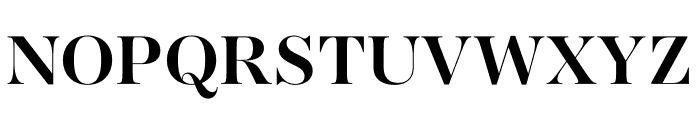 AWConqueror Std Didot Bold Font UPPERCASE