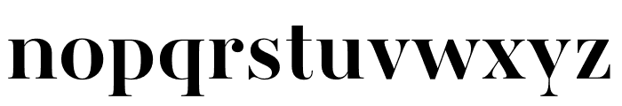 AWConqueror Std Didot Bold Font LOWERCASE