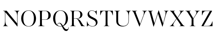AWConqueror Std Didot Light Font UPPERCASE