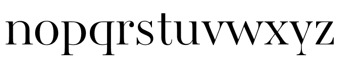 AWConqueror Std Didot Light Font LOWERCASE