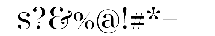 AWConqueror Std Didot Regular Font OTHER CHARS