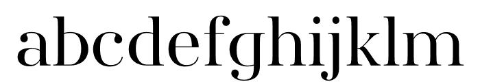 AWConqueror Std Didot Regular Font LOWERCASE