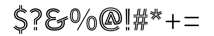 AWConqueror Std Inline Regular Font OTHER CHARS