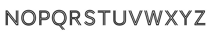 AWConqueror Std Inline Regular Font UPPERCASE