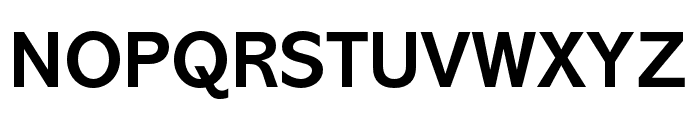 Abadi MT Pro Cond Bold Font UPPERCASE