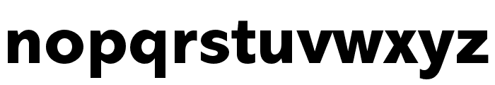 Abadi MT Pro Cond Extra Bold Font LOWERCASE