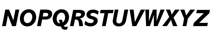 Abadi MT Pro Extra Bold Italic Font UPPERCASE