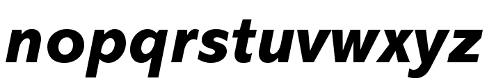Abadi MT Pro Extra Bold Italic Font LOWERCASE