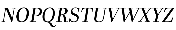 Abril Fatface Italic Font UPPERCASE