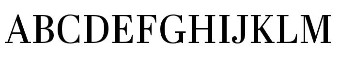Abril Text Regular Font UPPERCASE