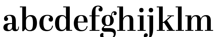 Abril Text SemiBold Font LOWERCASE