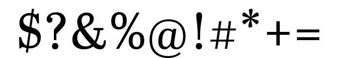 Abril Titling Condensed Regular Font OTHER CHARS