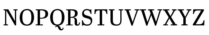 Abril Titling Condensed Regular Font UPPERCASE