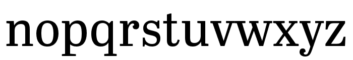 Abril Titling Condensed Regular Font LOWERCASE