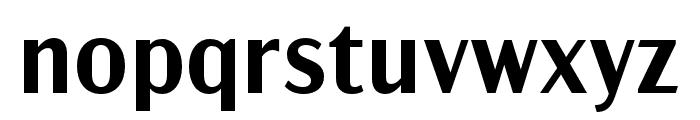 Acme Gothic Compressed Semibold Font LOWERCASE
