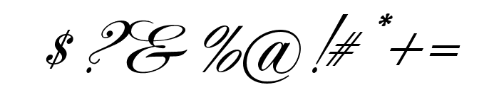 AcroterionJF Regular Font OTHER CHARS
