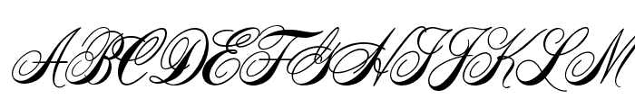 AcroterionJF Regular Font UPPERCASE