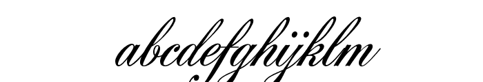 AcroterionJF Regular Font LOWERCASE