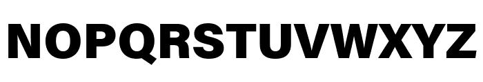 Acumin Pro Black Font UPPERCASE