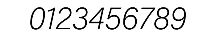 Acumin Pro ExtraCondensed Extra Light Italic Font OTHER CHARS