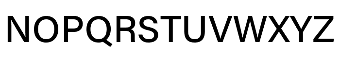 Acumin Pro Medium Font UPPERCASE