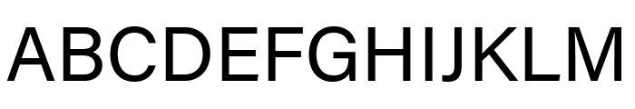 Acumin Pro Regular Font UPPERCASE