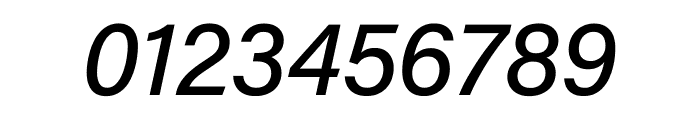 Acumin Pro SemiCondensed Medium Italic Font OTHER CHARS