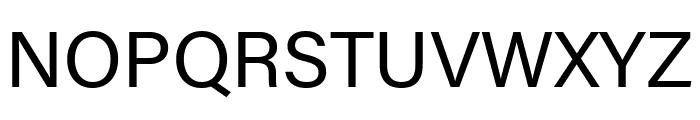 Acumin Pro SemiCondensed Regular Font UPPERCASE