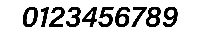 Acumin Pro SemiCondensed Semibold Italic Font OTHER CHARS