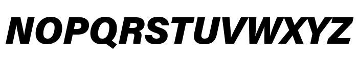 Acumin Pro Wide Black Italic Font UPPERCASE