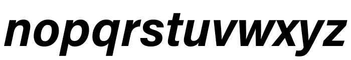 Acumin Pro Wide Bold Italic Font LOWERCASE