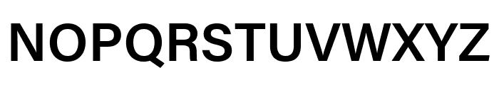Acumin Pro Wide Semibold Font UPPERCASE