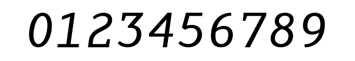 AdaptiveMono OT Oblique Font OTHER CHARS