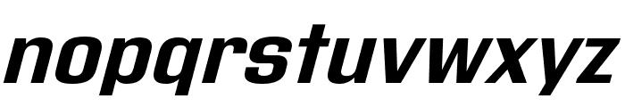 Address Sans Pro Bold It Font LOWERCASE