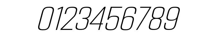 Address Sans Pro Cd ExtraLight It Font OTHER CHARS