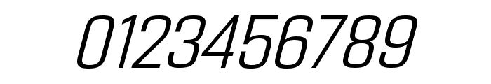 Address Sans Pro Light It Font OTHER CHARS
