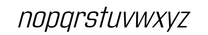 Address Sans Pro Light It Font LOWERCASE