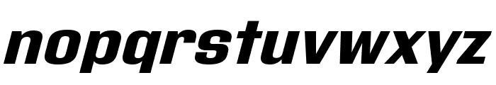 Address Sans Pro Xt ExtraBold It Font LOWERCASE
