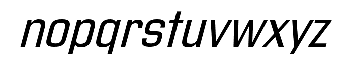 Address Sans Pro Xt Regular It Font LOWERCASE