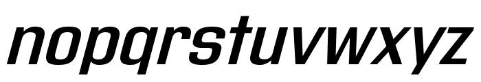 Address Sans Pro Xt SemiBold it Font LOWERCASE
