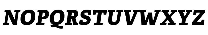 Adelle Condensed ExtraBold Italic Font UPPERCASE