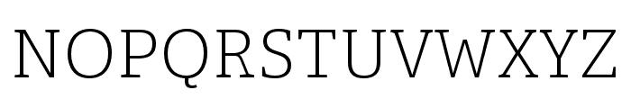 Adelle Condensed Light Italic Font UPPERCASE