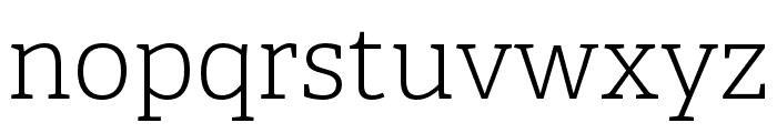 Adelle Condensed Light Italic Font LOWERCASE