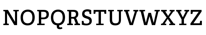 Adelle Condensed SemiBold Font UPPERCASE