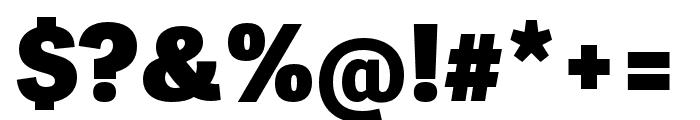 Adelle Sans ARA Heavy Font OTHER CHARS
