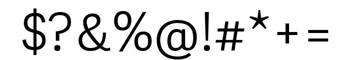 Adelle Sans ARA Light Font OTHER CHARS