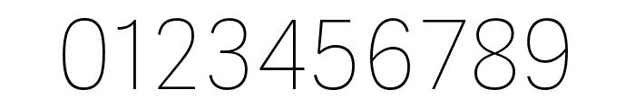 Adelle Sans ARA Ultrathin Font OTHER CHARS