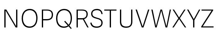 Adelle Sans Light Italic Font UPPERCASE