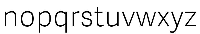 Adelle Sans Light Italic Font LOWERCASE